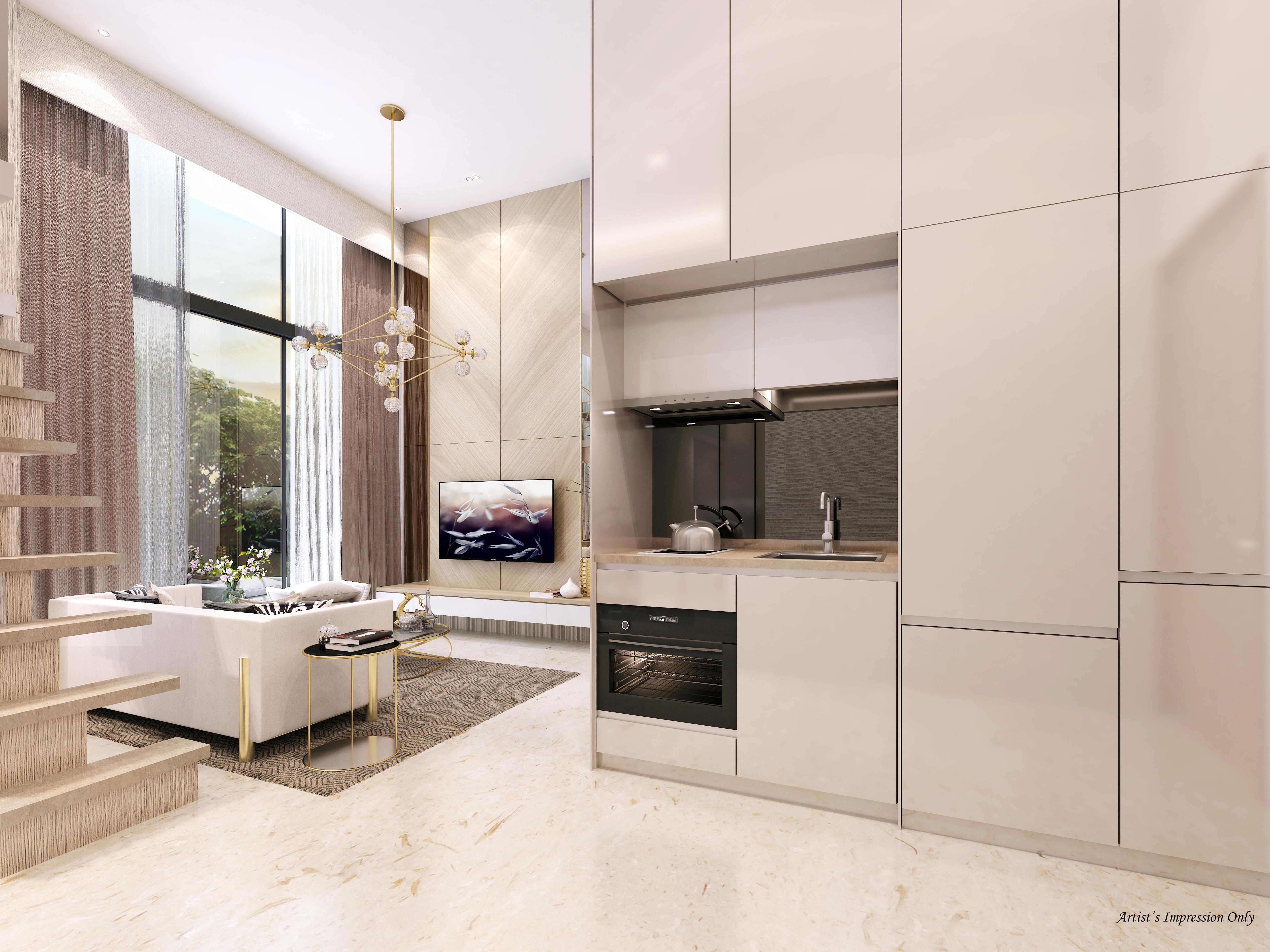 Living & Kitchen -AIO